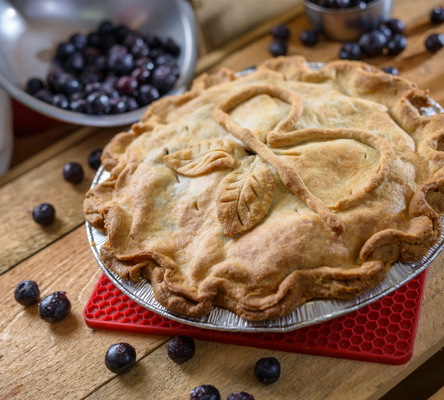 Blueberry Pastry Side