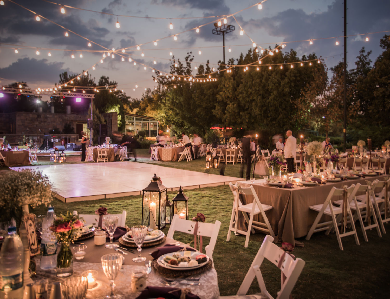 Weddings & Outdoor Events